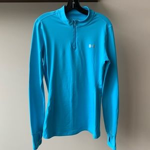 Under Armour Thermal Half Zip - Size L